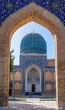 Mausoleo del emir de Gur-e de Tamerlán - Samarkand, Uzbekistán fotografía de archivo
