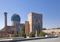 Mausoleo del Gur-e-emir, Samarkand, Uzbekistán imágenes de archivo libres de regalías