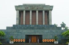 Mausoleo del Ho Chi Minh Fotografie Stock Libere da Diritti