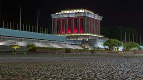 Mausoleo del Ho Chi Minh a Hanoi Immagini Stock