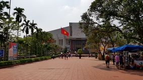 Mausoleo del Ho Chi Minh a Hanoi Immagine Stock Libera da Diritti