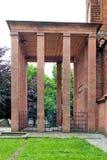 Mausoleo del ` s di Immanuel Kant Kaliningrad La Russia fotografia stock