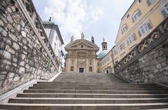 Mausoleo dell'Austria, Graz dell'imperatore Ferdinand II immagini stock libere da diritti