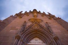mausoleo della facciata fotografia stock libera da diritti