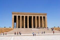 Mausoleo di Ataturk a Ankara Turchia Fotografie Stock
