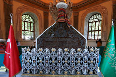 Mausoleo di Bursa Orhan Gazi Fotografia Stock Libera da Diritti