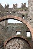 Mausoleo Di Cecelia Metella - εσωτερικό - μέσα μέσω του antica Appia σε Ro Στοκ Φωτογραφίες