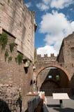 Mausoleo di Cecilia Metella em Roma Imagem de Stock
