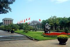 Mausoleo di Ho Chi Min Fotografia Stock Libera da Diritti