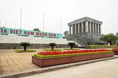 Mausoleo di Ho Chi Minh a Hanoi Immagini Stock Libere da Diritti