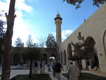 Mausoleo di Jafar al-Tayyar in Giordania Fotografia Stock