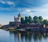 Mausoleo di Jaswanth Thada, Jodhpur, India Immagini Stock Libere da Diritti