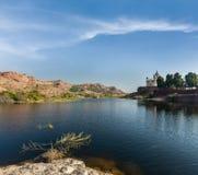 Mausoleo di Jaswanth Thada, Jodhpur, Ragiastan, India Fotografie Stock Libere da Diritti