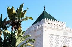 Mausoleo di Mohammed V a Rabat, Marocco Fotografia Stock Libera da Diritti