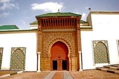 Mausoleo di Moulay Ismail, Meknes, Marocco Fotografie Stock