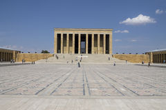 Mausoleo di Mustafa Kemal Ataturk Fotografia Stock Libera da Diritti