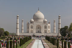 Mausoleo di Taj Mahal fotografia stock libera da diritti
