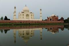 Mausoleo di Taj Mahal - Agra Fotografia Stock