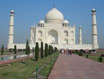 Mausoleo di Taj Mahal a Agra, India Fotografie Stock Libere da Diritti