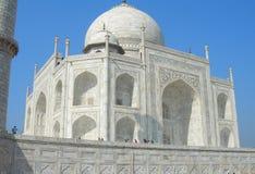 Mausoleo di Taj Mahal a Agra, India Fotografia Stock Libera da Diritti
