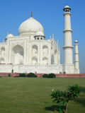 Mausoleo di Taj Mahal a Agra, India Fotografia Stock