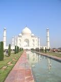 Mausoleo di Taj Mahal a Agra, India Fotografie Stock