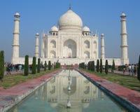 Mausoleo di Taj Mahal a Agra, India Immagini Stock