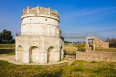 Mausoleo di Teodorico, Ravenna Royaltyfri Fotografi