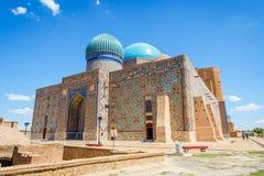 Mausoleo di Turkistan, il Kazakistan Fotografie Stock Libere da Diritti