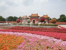 Mausoleo di Zhaoling di Qing Dynasty Fotografie Stock Libere da Diritti