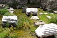 Mausoleo en Halicarnassus foto de archivo libre de regalías
