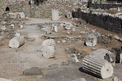 Mausoleo en Halicarnassus Fotografía de archivo libre de regalías