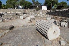 Mausoleo en Halicarnassus Fotos de archivo libres de regalías