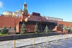 Mausoleo en la Plaza Roja, Moscú, Rusia Imágenes de archivo libres de regalías
