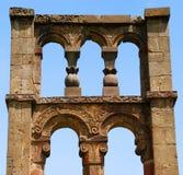 Mausoleo medieval viejo Foto de archivo libre de regalías