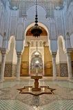 Mausoleo a Meknes, Marocco di Moulay Ismail Fotografia Stock Libera da Diritti