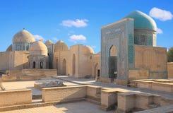 Mausoleo musulmán antiguo en Samarkand Foto de archivo