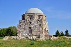 Mausoleo musulmán en Bolgar, Rusia fotografía de archivo