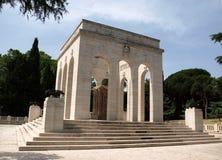 The Mausoleo Ossario Garibaldino  on the Janiculum Hill in Rome Stock Images