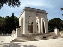 The Mausoleo Ossario Garibaldino  on the Janiculum Hill in Rome, Royalty Free Stock Image
