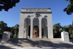 The Mausoleo Ossario Garibaldino in Rome Stock Photos