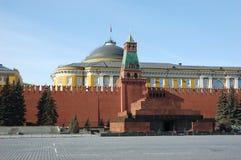 Mausoleo sul quadrato rosso Fotografie Stock Libere da Diritti