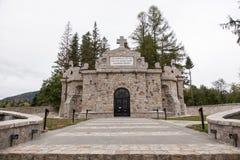 Mausoleu de Soveja Imagem de Stock Royalty Free