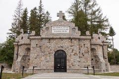 Mausoleu de Soveja Imagem de Stock