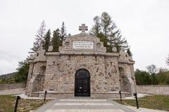 Mausoleu de Soveja Fotos de Stock Royalty Free