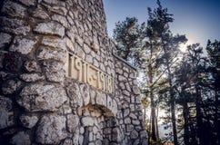 Mausoleul MateiaÈ™ - la Romania Immagine Stock Libera da Diritti