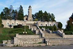 Mausoleul Valea Mare - Campulung Muscel Stock Photo