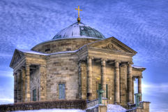 Mausoleum lizenzfreie stockfotos