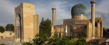 mausoleum Royaltyfri Foto