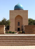 mausoleum 2007 för bibiingångskhanim samarkand Arkivbild